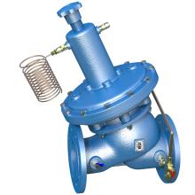 Válvula de equilibrado autoactivada de hierro fundido