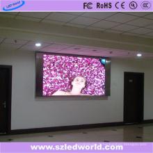 Mur visuel polychrome fixe d'intense luminosité d'intérieur de SMD pour la publicité (P3, P4, P5, P6)