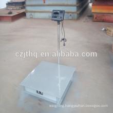 Platform weighing apparatus