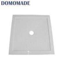 Design conciso de alta qualidade brilhante não quebrável dreno base de pedra fundida banheiro banho chuveiro bandeja de resina