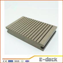 WPC crack-resistente decking madeira de boa qualidade plástico composto placa de deck sólido WPC sob baixo preço