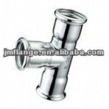 ASTM A234 WPB stainless steel Threaded Tee