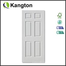 Pele branca da porta da primeira demão HDF (pele da porta da primeira demão)