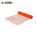 Manufacture Zhejiang China Outdoor Orange Plastic Orange Strong Mesh Netting