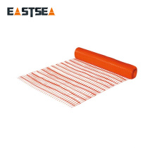 Fabricación Zhejiang China plástico anaranjado anaranjado al aire libre Naranja Red de malla fuerte