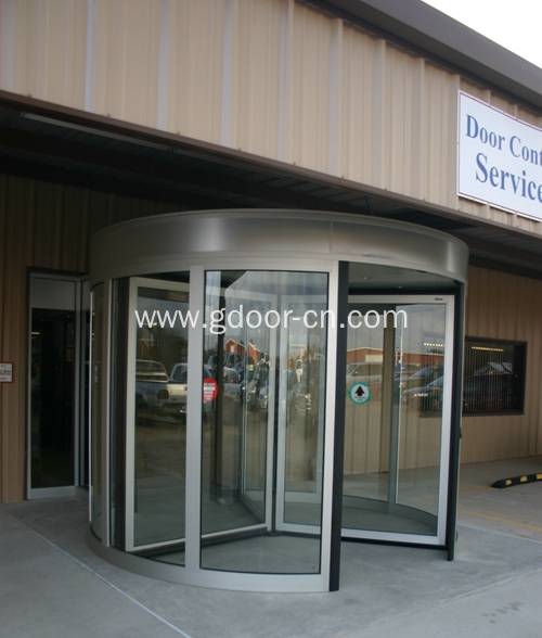 Safety Three Wings Automatic Revolving Door