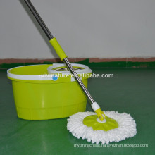 Dual Bucket Spinning Action Mop with Two Mop Heads