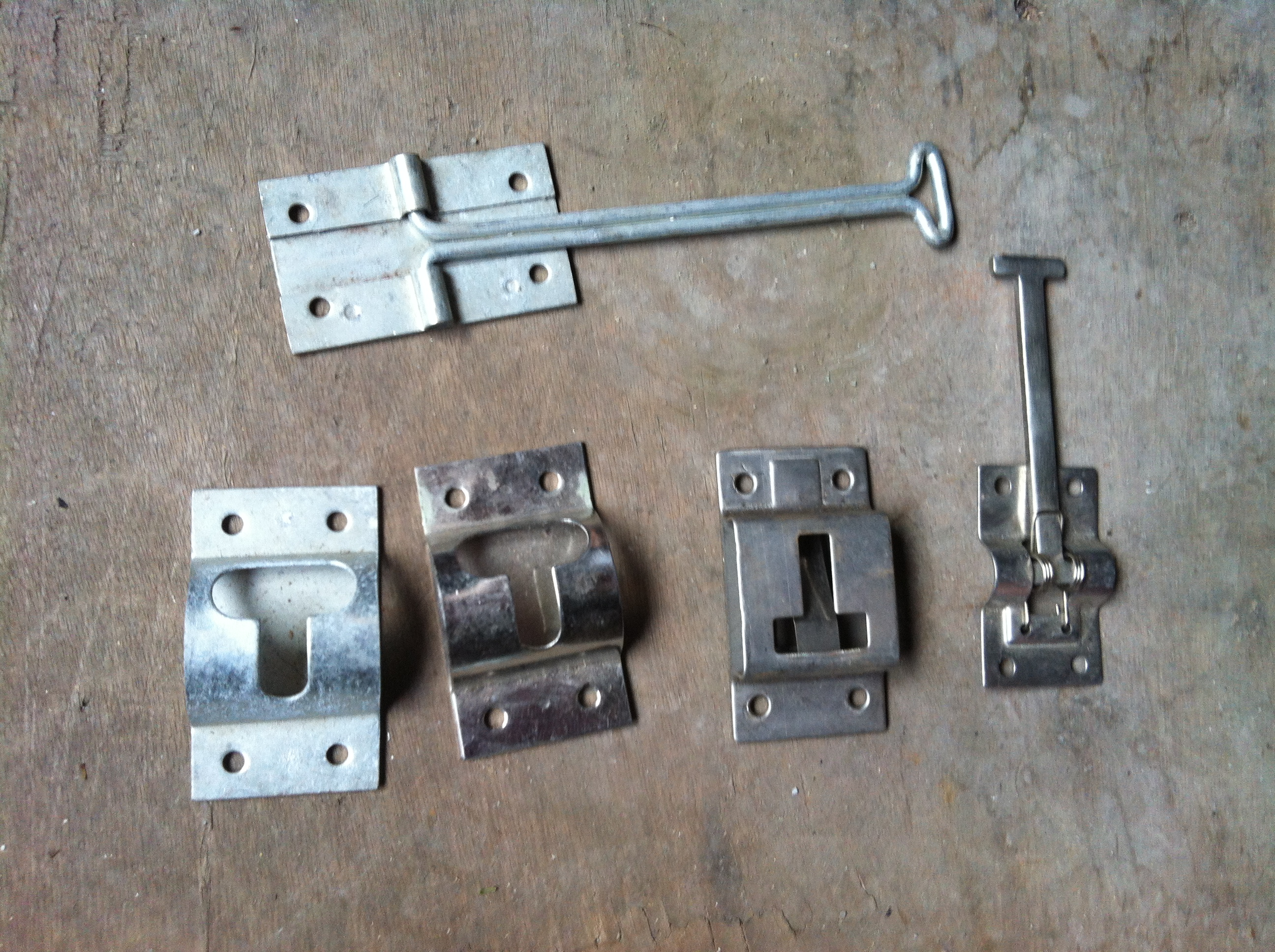 Plastic Trailer Door Hold Back Latch