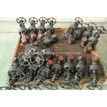 Forged Steel 90 Degree Angle Globe Valve