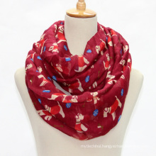 New design multi functional shawls excellent polyester dog print fashion scarf 2017