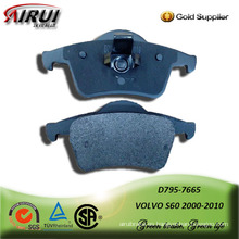 Semi-metallic brake pad for VOLVO S60 2000-2010