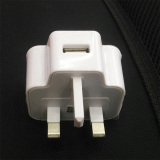 uk usb home charger with cable 5v 2A