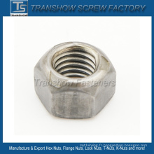 Écrou hexagonal à verrouillage en métal