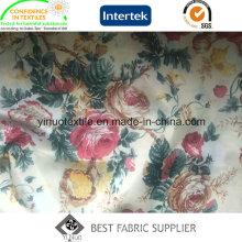Tissu imprimé 100% polyester avec prix usine direct