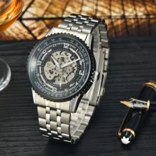 Los hombres mecánicos de acero de los relojes del reloj caliente de la venta