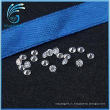 Вечно блестящий круглой формы 2,5 мм Муассанит алмазов для продажи