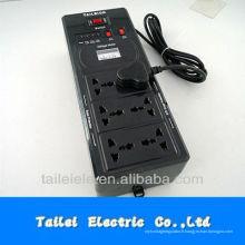 Stabilisateur de tension à relais à prise universelle 600VA 220V 110V