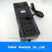 universal socket relay type voltage stabilizer 600VA 220V 110V