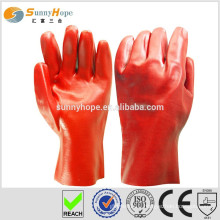 Sunnyhope protecting pvc dotted hand cotton gloves