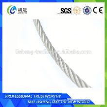 Corde à fil galvanisé 7x19 recouverte de nylon