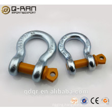 Galvanized US Type Drop Forged Shackles/ Screw Pin Shackles/ Crane Shackles/209 Shackles