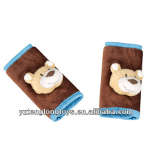 customized comfortable and funny baby car seat belt cover