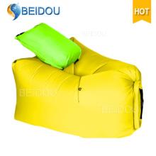 Nueva silla inflable del bolso del grano de aire de la hamaca del sofá del aire de DIY