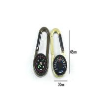 Top-Funktion! Gravierte Benutzerdefinierte Kompass Schlüsselanhänger
