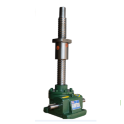 screw lift with rotating nut for overturn motion