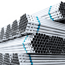 Q195 235 Galvanized ERW steel pipes Top Quality