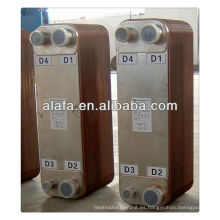 soldadas intercambiador de calor, intercambiador de calor de aire acondicionado, fabricación de intercambiadores de calor