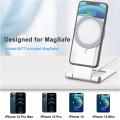 Suporte de telefone carregador magnético sem fio para iPhone 12