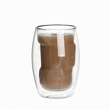Good Quality Two-walled Glass Tea Mugs