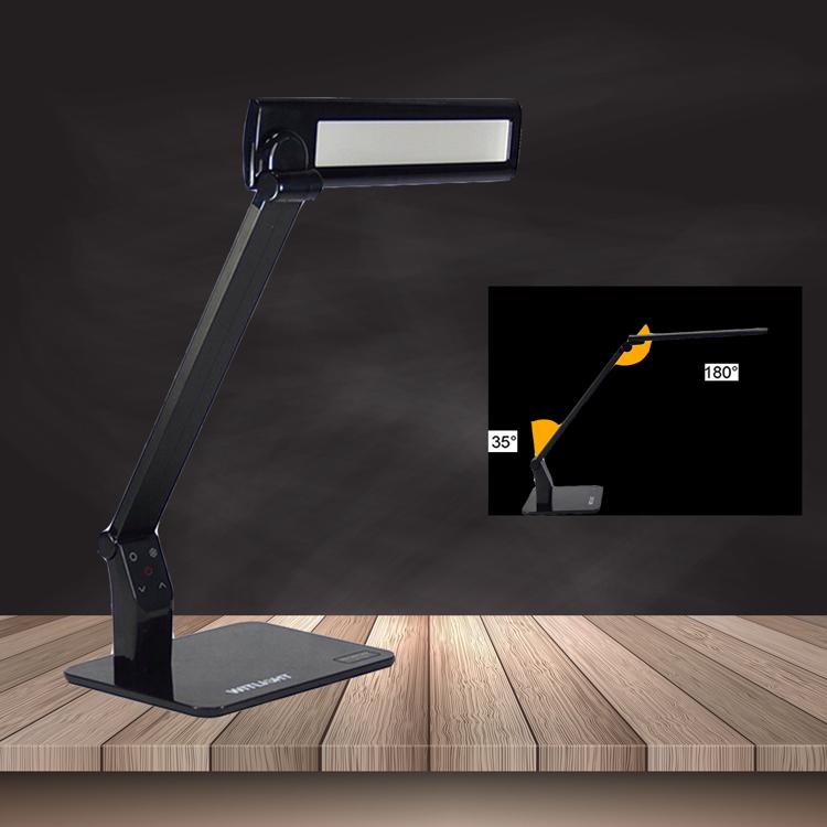 12W dimmer levou luz de lâmpada de mesa de escritório