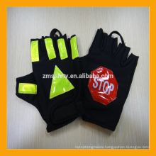 Half Finger Sun Protection Traffic Safety Police Gloves