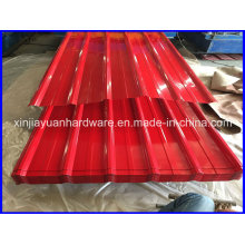 Prepainted Corrugated Galvanized Steel Roofing Sheet
