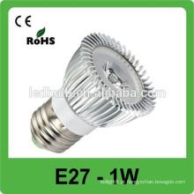CE RoHS Listed Fábrica Lube alta Lâmpada LED e27 levou spot lâmpada