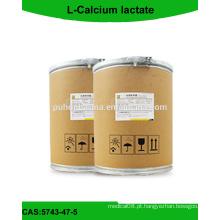 L-Pó de lactato de cálcio com boa qualidade // CAS: 5743-47-5