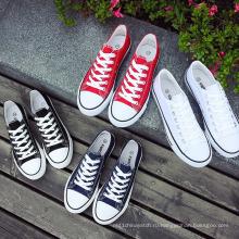 Холст Обувь Акциям Одной Коробке Холст Повседневная Женщины Мужчины Прыгают