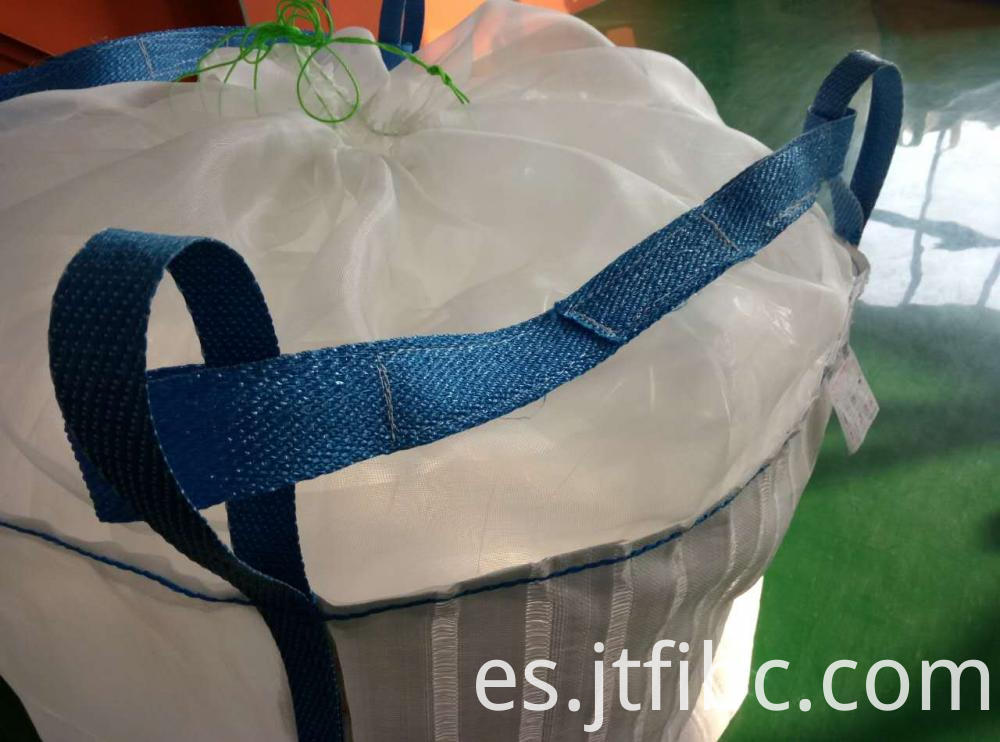 White Cross Corner Loop Bulk Bag