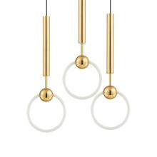 Creative Modern Gold Round Chandelier Pendant Light