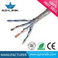 8Cores High Twisted SFTP Cat7 Câble de sécurité blindé à fil de câblage