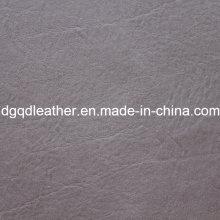 Couro de PVC de alta resistência a riscos de mobiliário (QDL-515127)