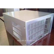 Gabinete de chapa de metal / gabinetes de metal para baterías / gabinete de metal impermeable