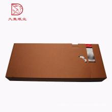 Оптовая выполненная на заказ персонализированная картонная гофрированная коробка