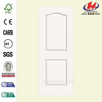 Continental Solid-Core Composite Primed White 2-Panel Slab Door