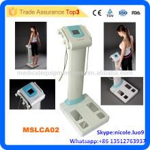 MSLCA02i Wirtschaftlicher menschlicher Körperfettanalysator / Kompakter Körperzusammensetzungsanalysator / 3 Testfrequenzen Körperfett-Scaler