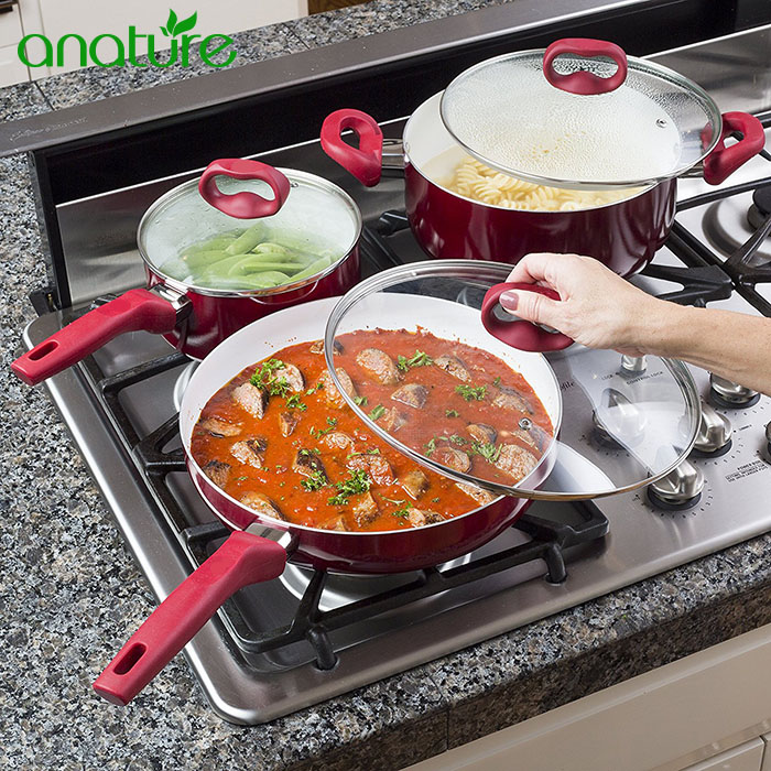 Hot Sale on Amazon 8pcs Nonstick Cookware Set