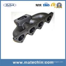 Fábrica de ferro fundido preciso precisão para Turbo colector de escape