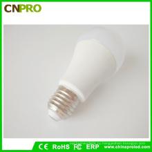 Высокое качество пластик + Алюминиевый А19 LED лампы 9W